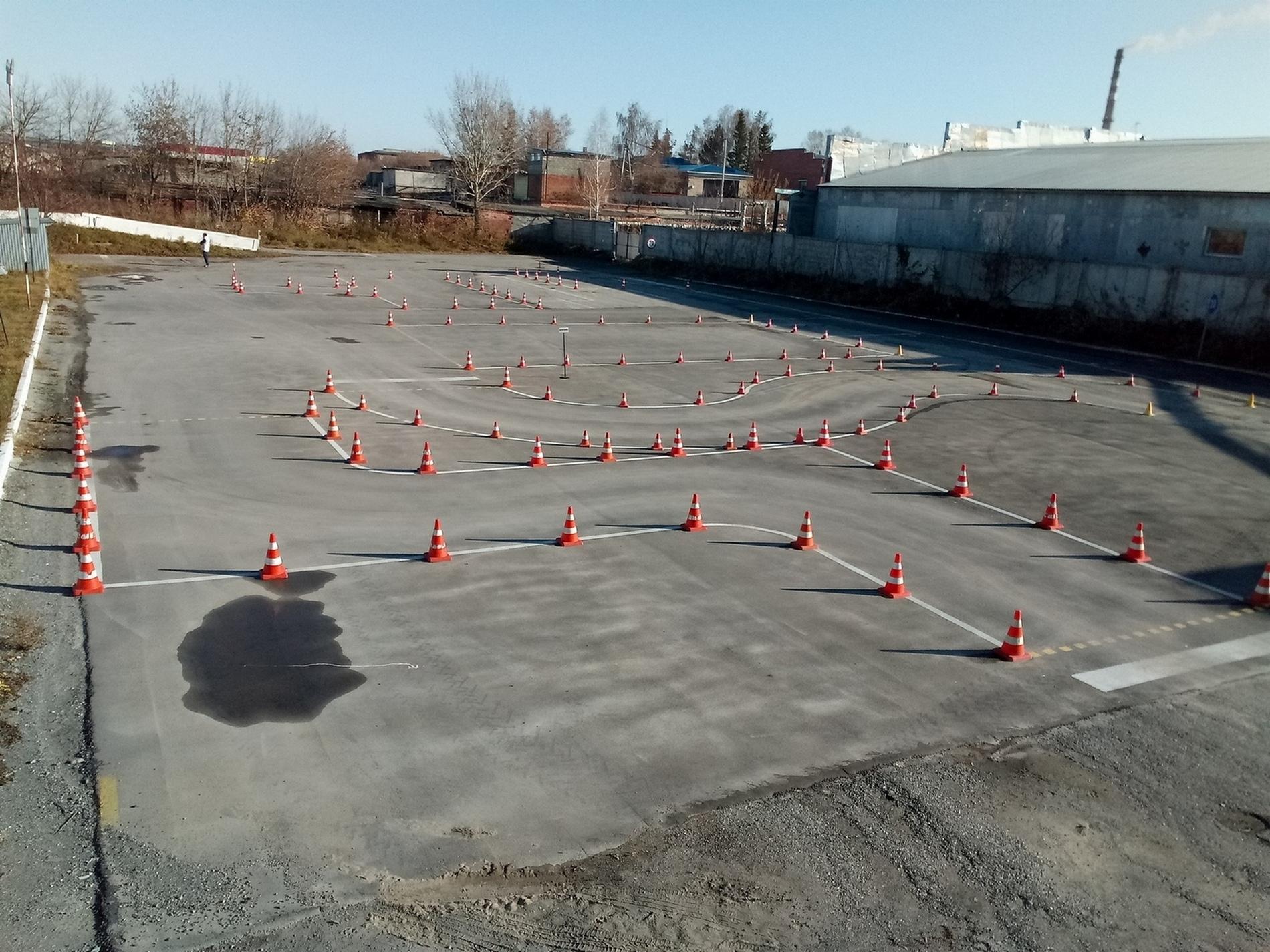 парковка задним ходом параллельно схема